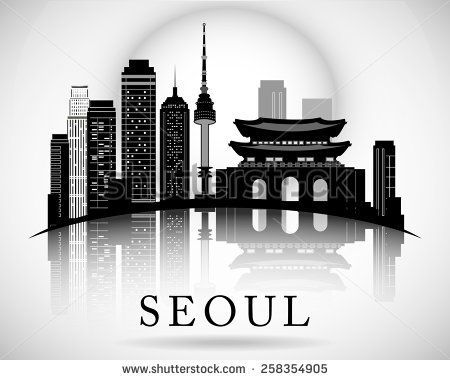 seoul skyline silhouette에 대한 이미지 검색결과