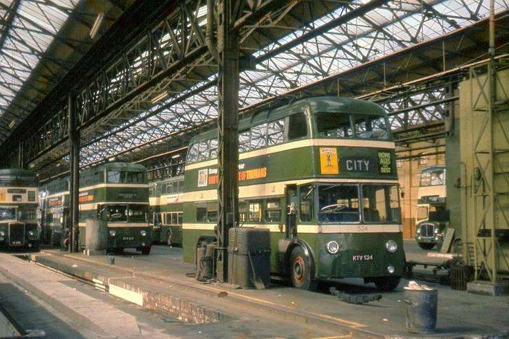 Nottingham Trolleybuses - The Last Years