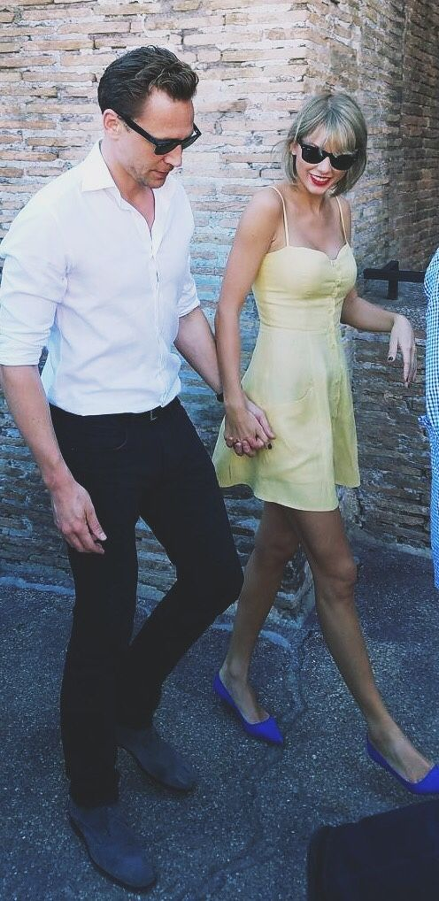 You ain't gotta like it but at least admire the fact that taylor swift decided to use her millions to jet set off to rome to wander around with tom hiddleston while wearing a yellow dress. #goals