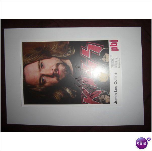 Justin Lee Collins - Signed photograph/ autograph on eBid United Kingdom