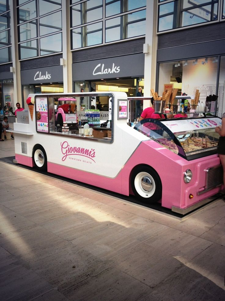 Our state of the art gelato truck opens at The Centre:MK, serving true delicious italian ice cream, freshly made Belgian waffles and milkshakes!