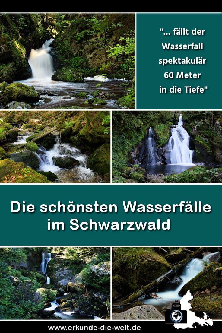 Schönste Schwarzwald Wasserfälle