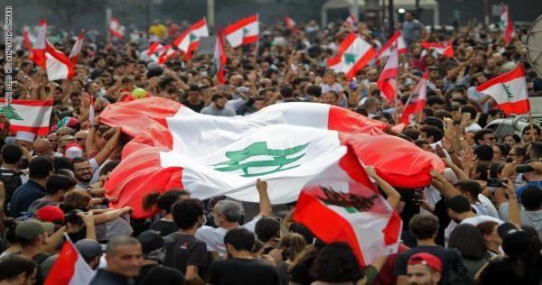 لبنان أول رد رسمي على تمويل الإمارات والسعودية للاحتجاجات الشعبية Beirut Lebanon Lebanon Economy