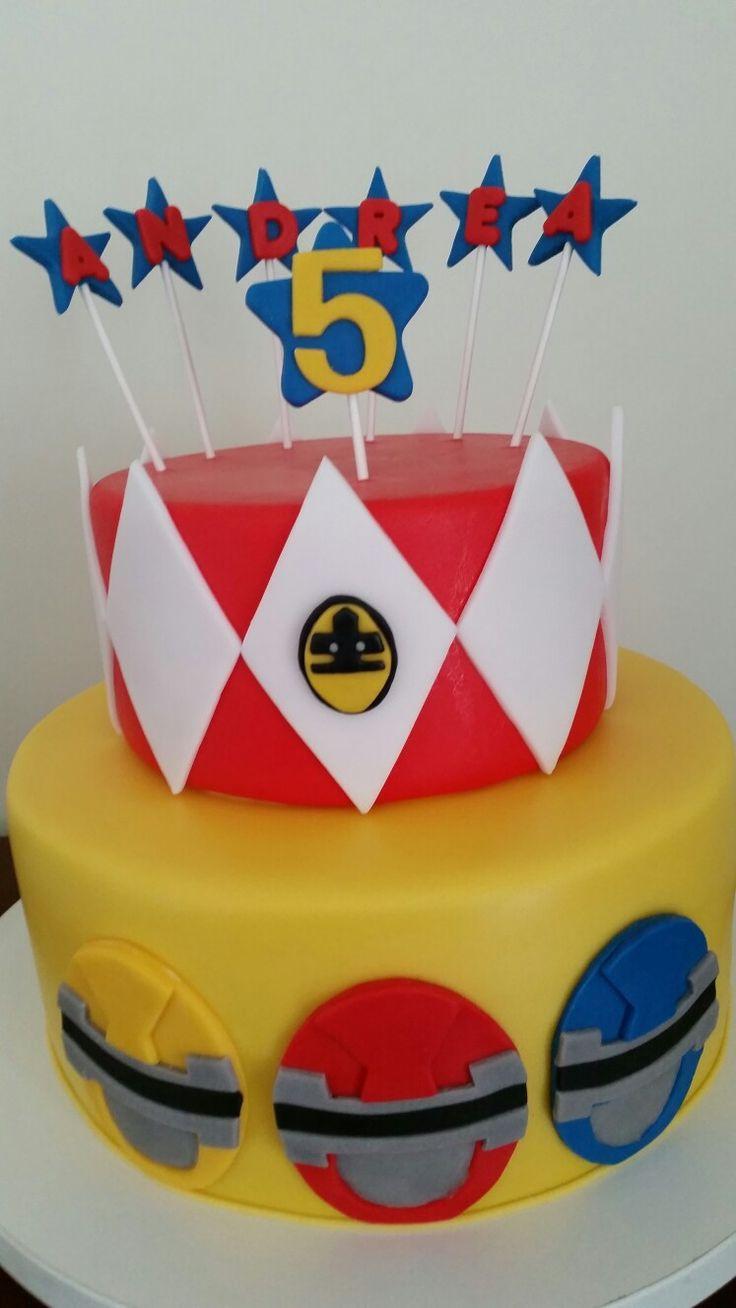 Power Ragers cake