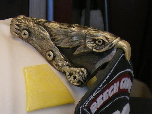 Fire helmet eagle tutorial