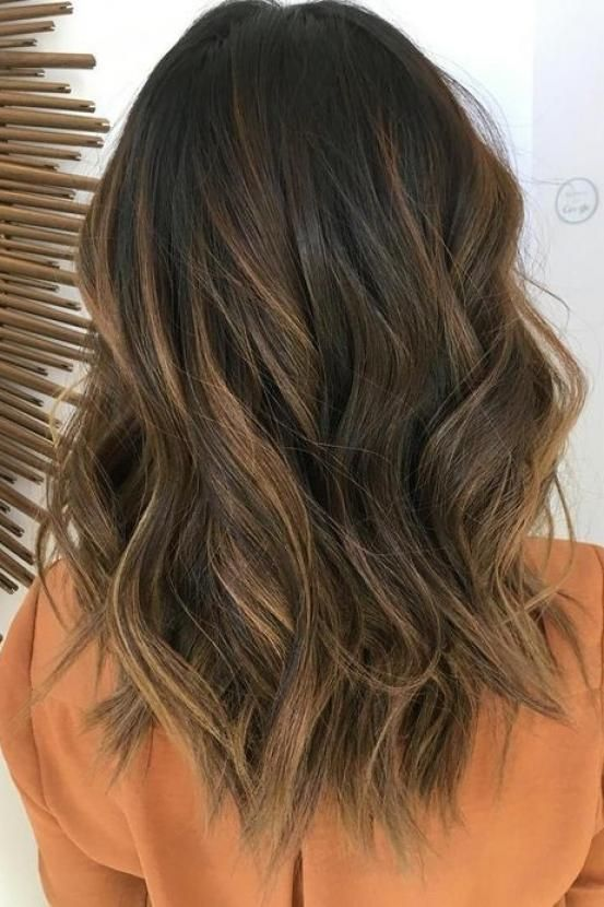 25 b sta balayage blond sur chatain id erna p pinterest balayage sur cheveux chatain ombr. Black Bedroom Furniture Sets. Home Design Ideas
