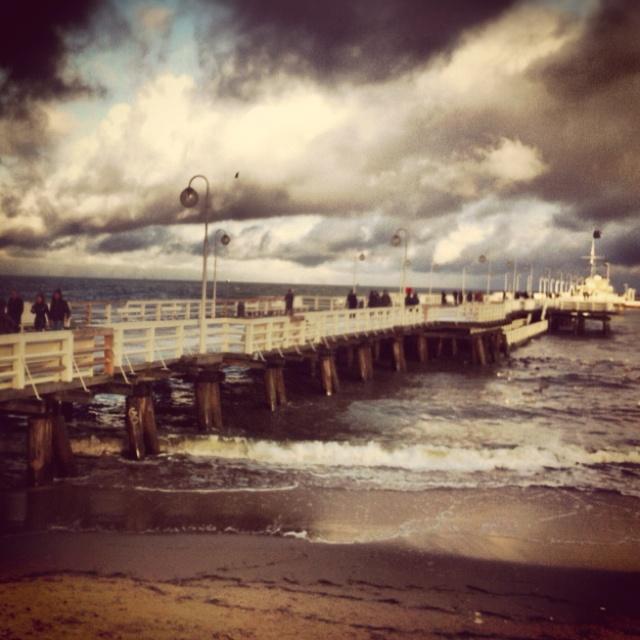 #Sopot  Molo - the longest wooden pier in Europe