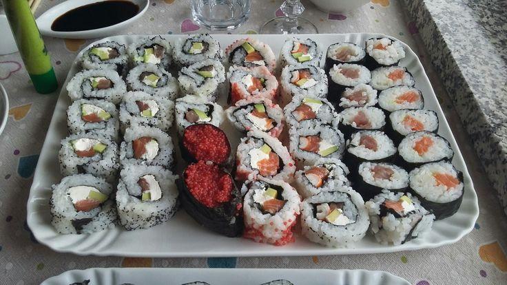 Sushi fatto in casa...secondo tentativo✌