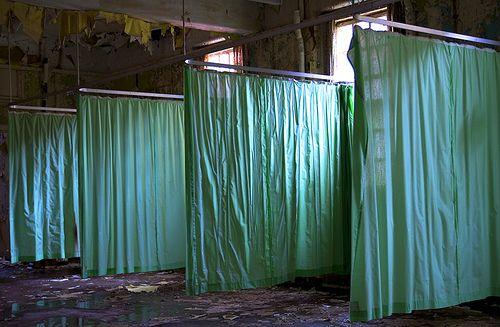 West park  abandoned insane asylum .