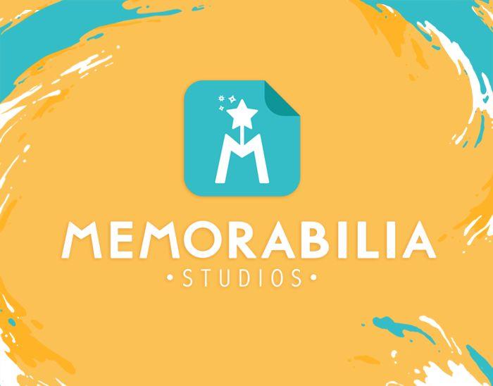 """Memorabilia Studios | Art Brand Identity"" https://www.behance.net/gallery/35196211/Memorabilia-Studios-Art-Brand-Identity"