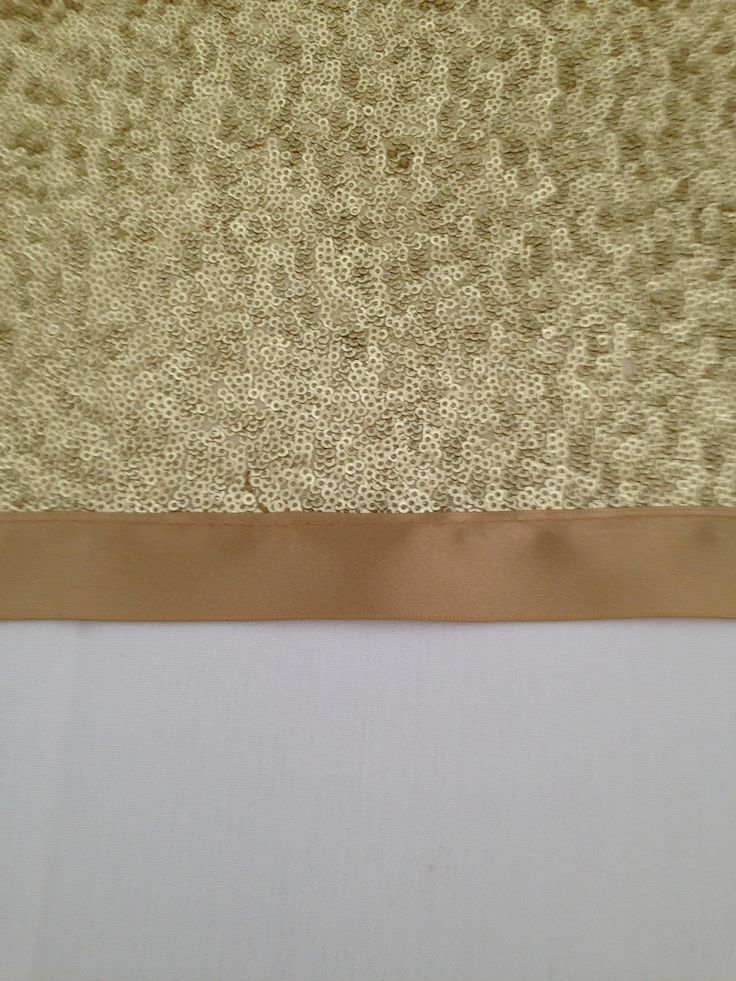 Gold sequined table runners from Simply bows and chair covers