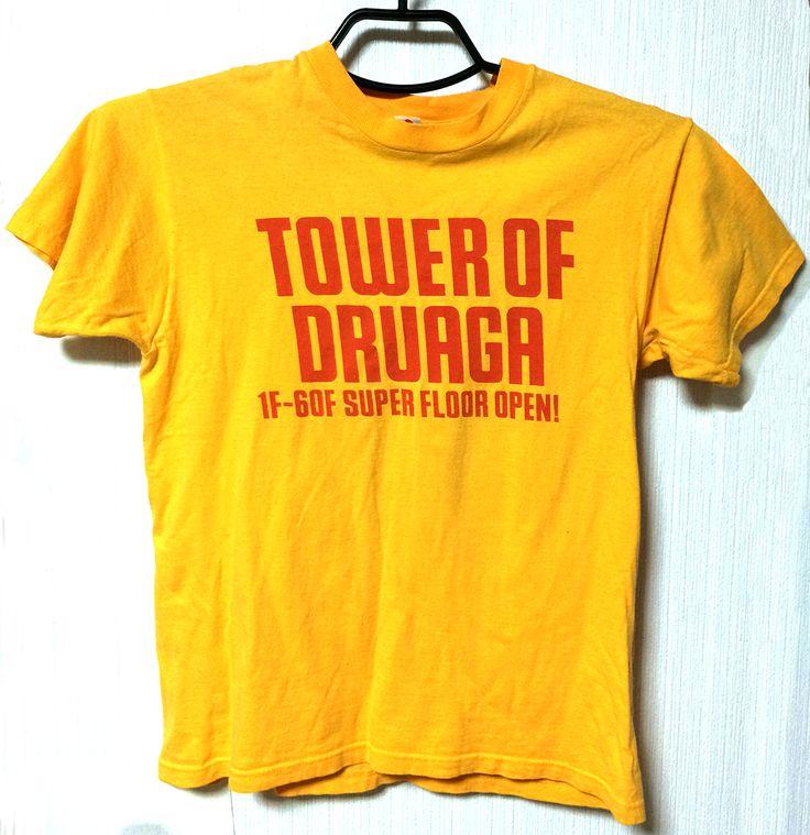 """Nendo「ドルアーガの塔」Tシャツ/Nendo """"The Tower of Druaga"""" T-shirts"""