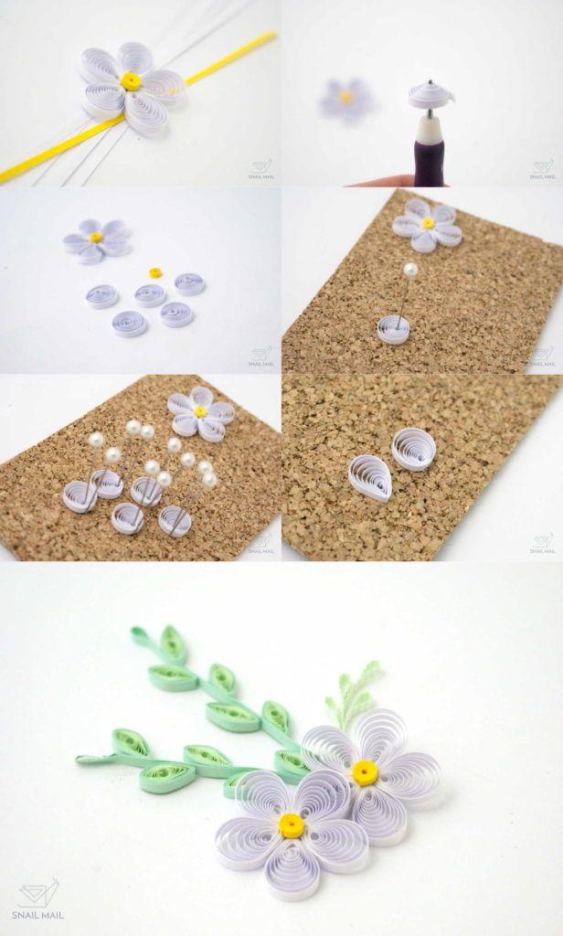 Tutorial Kwiatki Quilling Flowers Paper Quilling Designs Quilling Techniques Paper Quilling Flowers