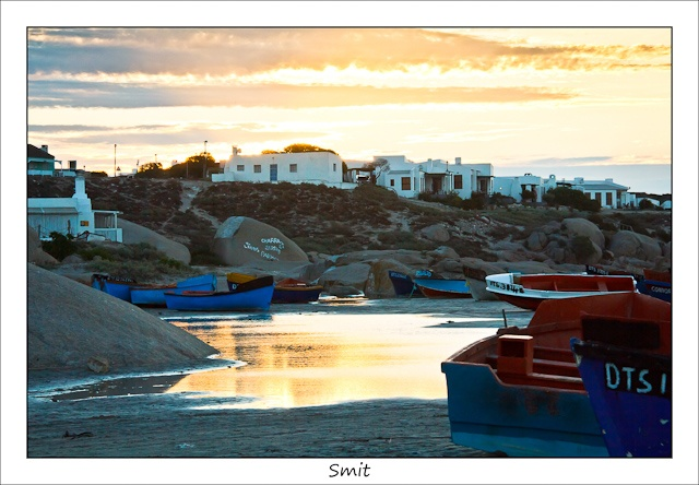 Paternoster beach at sunset - West Coast - Western Cape