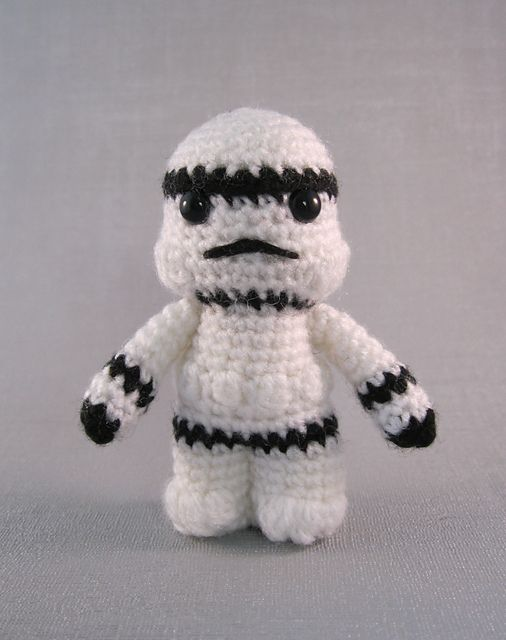 Ravelry: Stormtrooper - Star Wars Mini Amigurumi pattern by Lucy Collin