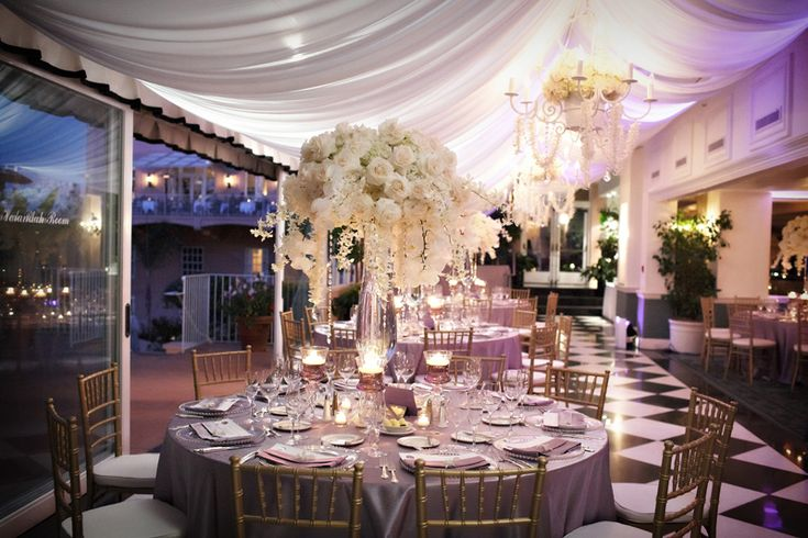 all whiteReceptions Centerpieces, Ivory Flower, Wedding Receptions,  Eating Places,  Eating House'S, Wedding Center Piece,  Eatery, Gold Accent, Elegant Wedding