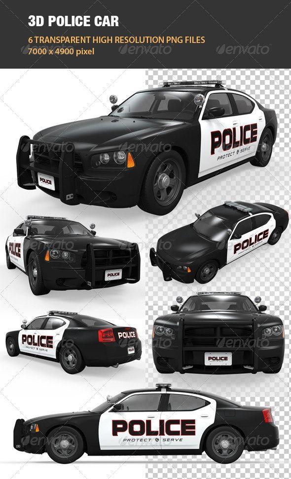 3d Police Car Police Cars Police Car