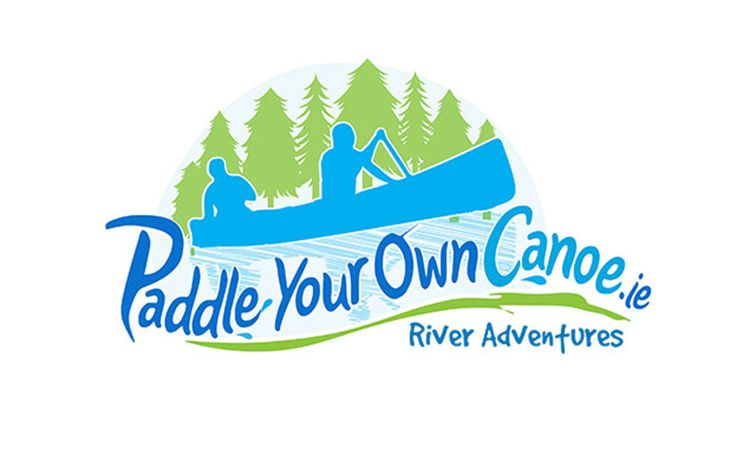 """Logo design for """"Paddle Your Own Canoe"""""""