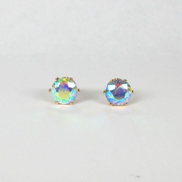 Meg earring crystal AB