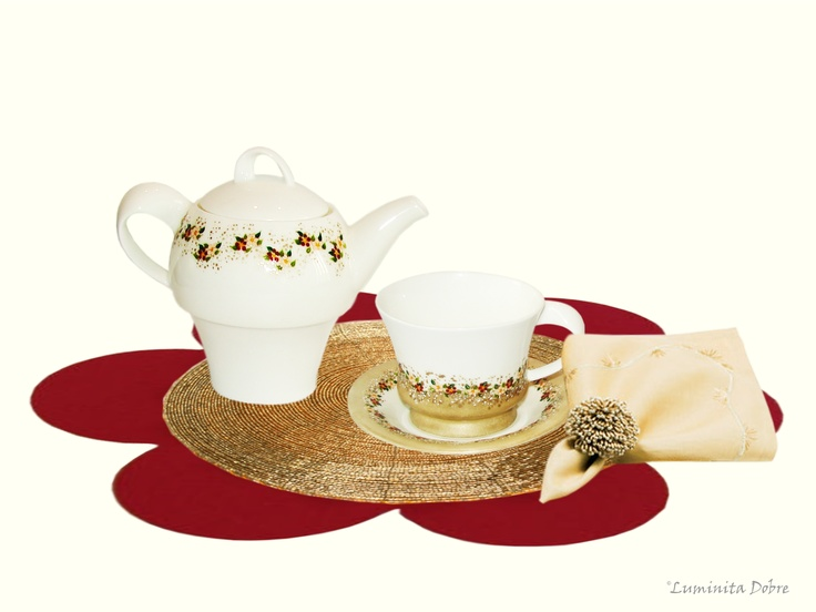 Tea for one -portelan pictat manual