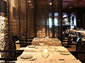 On the quiet eastern front of Yorkville, set back behind a brick facade, Blu is an Italian restaurant based on authentic classic cuisine created by executive chef Massimo Callovini.    Warmly lit  stone walls and grand mirrors surround cozy leather seating and dark wood tables. Enter through a casual bar, which then leads to a hip, upscale dining room with an inviting ambience. Dinner is enhanced by the soothing live music Wednesday through Saturday.  Enjoy impeccable service for intimate…