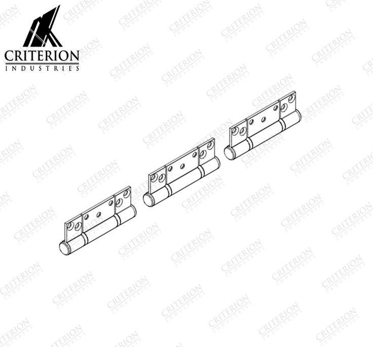Atlantic Bi-Fold Hinge Set