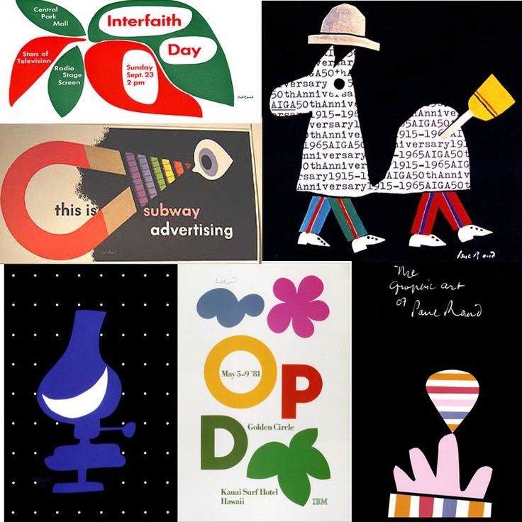 Post 5 (Helene) – Posters by Paul Rand | graphic design history and theory