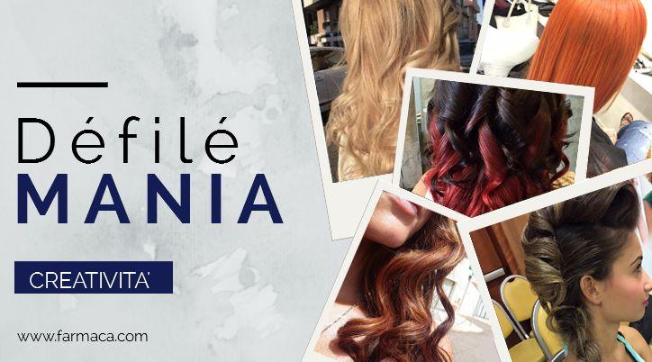 Défilé: e la tua creatività prende forma! #creazioni #creatività #hairstyle capellicolorati #defilemania