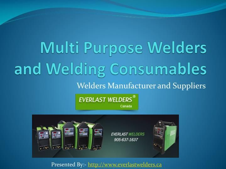 Everlast Welders is a leading manufacturer, distributor and supplier of a…