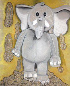 Drawing - Peanut Butter by Regina Jeffers
