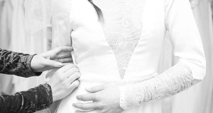 """""""La prueba del vestido de novia"""" Tu gran día con Francisca Tornero Novias   All You Need Is Love"""