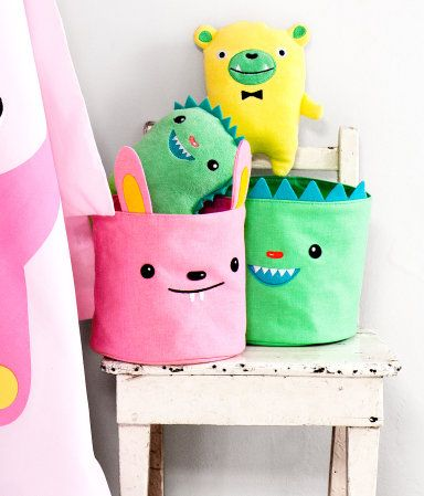 cute storage for kids' room