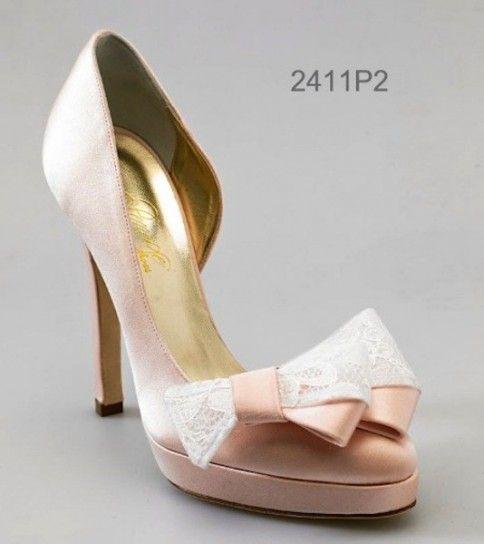 Scarpe da sposa colorate 2015