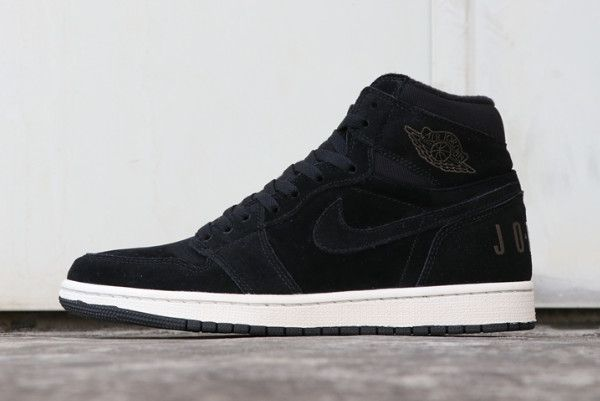 "beef8dca2f99 2018 Air Jordan 1 Mid Premium ""Fleece"" Black Olive Canvas Sail Cone  BQ6579-001"