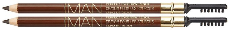 Iman Cosmetics Perfect Eyebrow Pencil, Blackest Brown. Iman Perfect Eyebrow Pencil Blackest Brown.