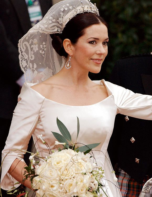 El ramo que Mary Donaldson llevó el día de su boda con el heredero al trono de Dinamarca, tenía flores traídas expresamente desde Australia, su tierra natal