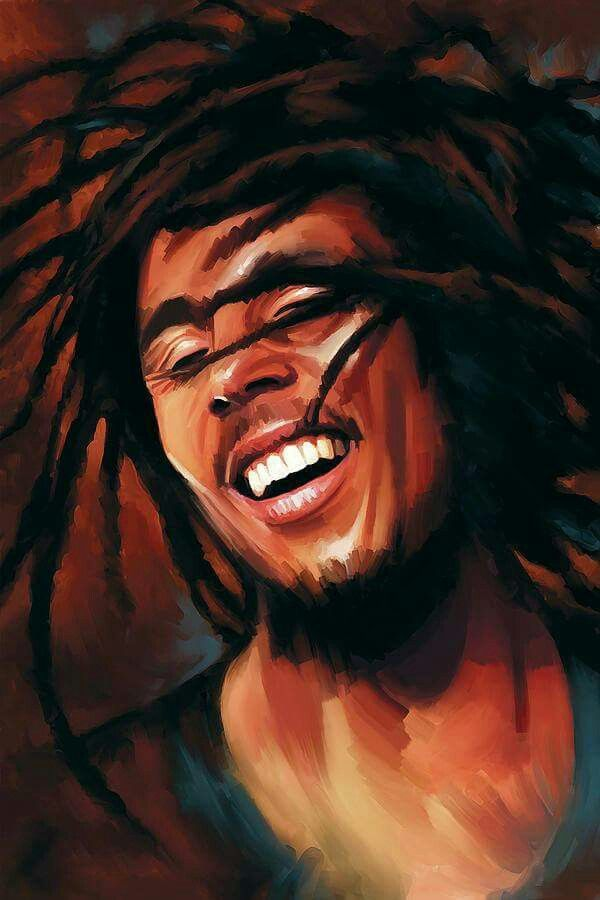 *Bob Marley* More fantastic paintings, pictures and videos of *Bob Marley* on: https://de.pinterest.com/ReggaeHeart/