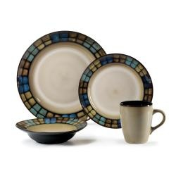 @Overstock.com.com - Throw a dinner party with your closest friends and serve a dinner party using this beautiful set. The beige 16-piece dinnerware set has a nice, neutral color. Plates have a banded border with a geometric pattern of accent tiles.http://www.overstock.com/Home-Garden/Pfaltzgraff-Laguna-16-piece-Dinnerware-Set/6051661/product.html?CID=214117 Add to cart to see special price