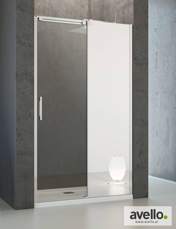 Drzwi prysznicowe wnękowe Espera DWJ Mirror <3