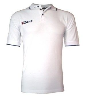 Fehér-Kék Zeus Golf Galléros Rövid Ujjú Póló, kényelmes, egyszerű, kopásálló, könnyen szárad, puha, tartós a kevert anyagoknak köszönhetően. Remek választás, roppant elegáns, egyszerű, klasszikusan sportos megjelenésű póló. Fehér-Kék Zeus Golf Galléros Rövid Ujjú Póló 5 méretben és további 4 színkombinációban érhető el.