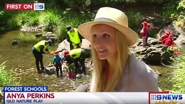 Channel 9 News Gold Coast - Forest Learning with Nature Play QLD and Anya Perkins.  #NaturePlayQLD #ForestLearning #Forestschool #9news