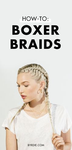 How to boxer braid your own hair