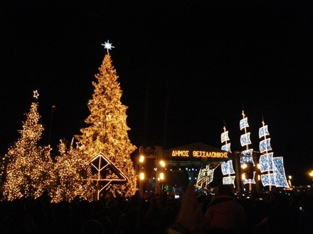 Thessaloniki, Greece christmas_lights