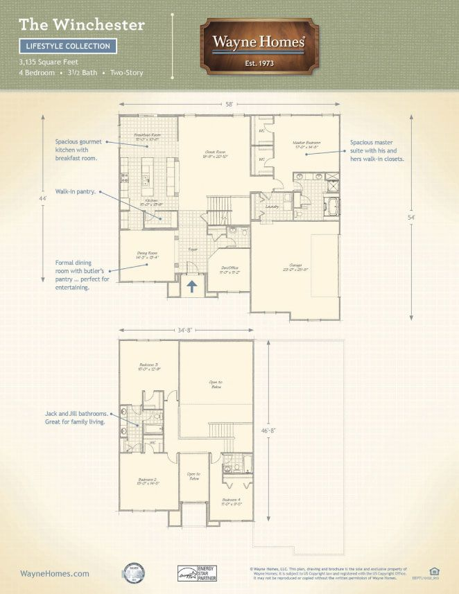 33 Best Images About Custom Built Homes The Winchester