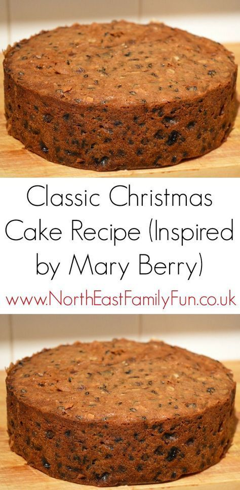 Easy Classic Christmas Cake Recipe (Inspired by Mary Berry)