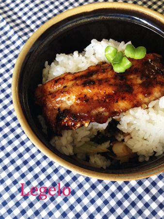 ソースが隠し味♪いわしの蒲焼丼☆海苔&ごま油&ネギで満足感UP by ...