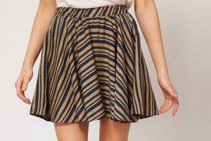 Выкройка юбки полусолнце своими руками