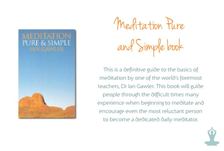"A beginners guide to meditation by Dr Ian Gawler, whose mantra is ""Meditation Delivers!'"