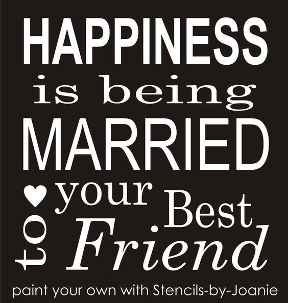 Details About Joanie Stencil Happiness Married Best Friend