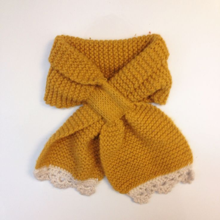One of my favourite knitted pieces, knitted scarf in wool and alpakka blend